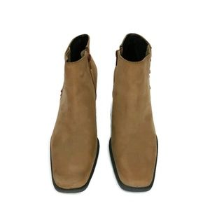 Etienne Aigner Shoes - Etienne AignerLeather/Suede Saddle Ankle Boots